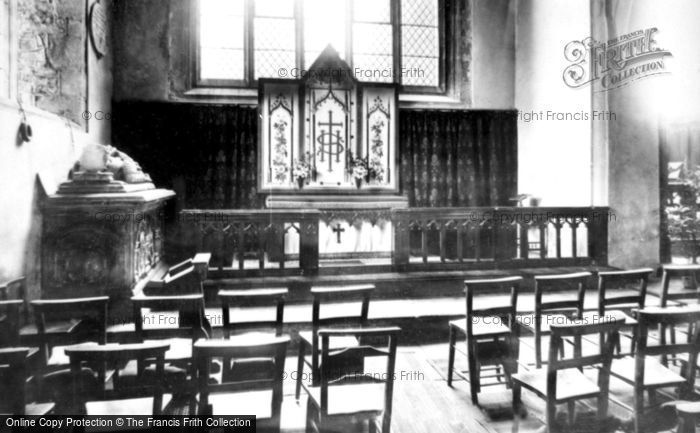 Abergavenny, St Mary's Church, The Lewis Chapel 1898