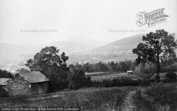 Abergavenny, Sugarloaf From Skirrid 1898