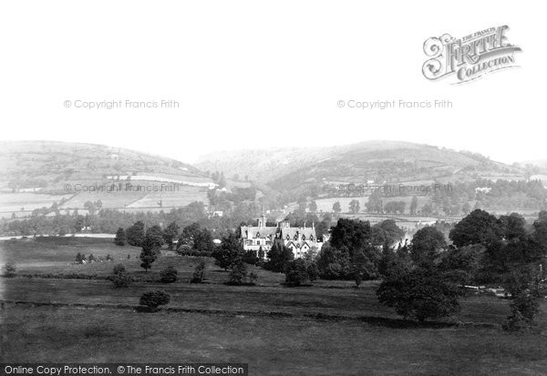 Photo of Abergavenny, Sugarloaf From The River Usk 1898