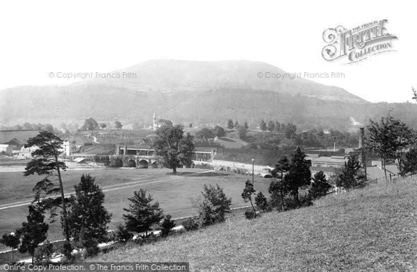 Photo of Abergavenny, The Blorenge 1893