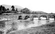 Abergavenny, The Bridge c.1965