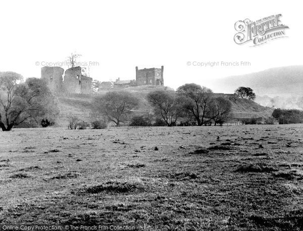 Photo of Abergavenny, The Castle c.1955