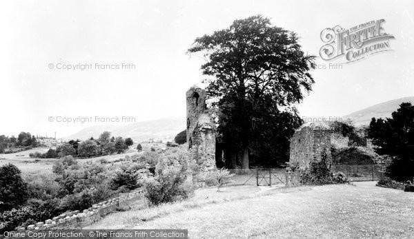 Abergavenny, The Castle c.1960