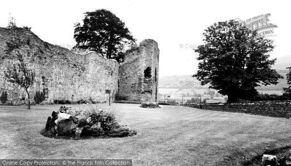 Photo of Abergavenny, The Castle c.1960