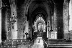Abergavenny, The Church Interior 1898