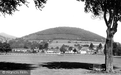 Abergavenny, the Deri from Bailey Park