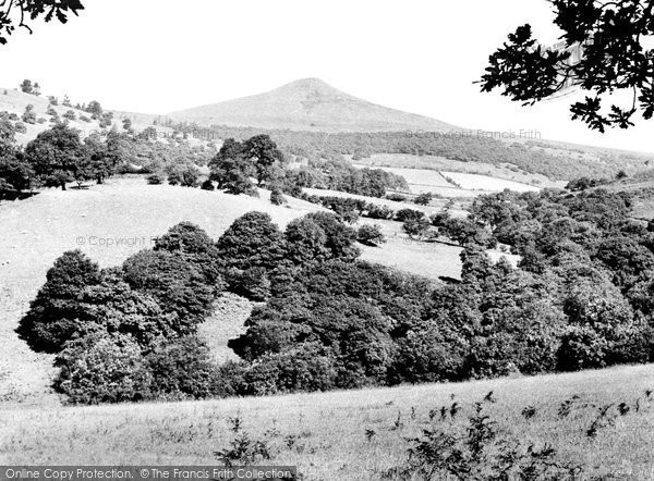 Photo of Abergavenny, The Sugar Loaf c.1950