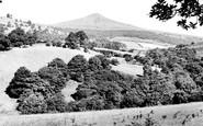 Abergavenny, The Sugar Loaf c.1950