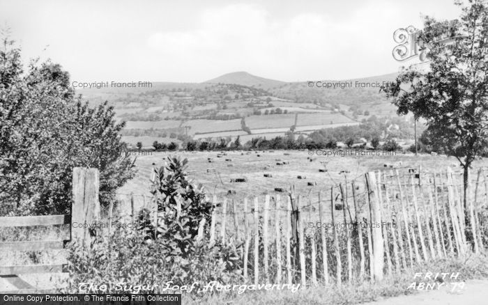 Photo of Abergavenny, The Sugar Loaf c.1955