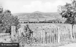 Abergavenny, The Sugar Loaf c.1955