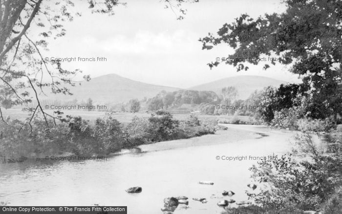 Photo of Abergavenny, The Usk c.1900