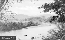 Abergavenny, The Usk c.1900