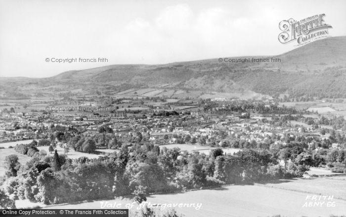 Photo of Abergavenny, The Vale c.1950