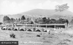 Abergavenny, Usk Bridge c.1950