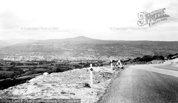 Photo of Abergavenny, View From The Blorenge c.1965