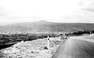 Abergavenny, View From The Blorenge c.1965