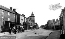 Abergele, Market Street 1890