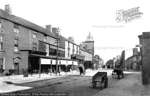 Photo of Abergele, Market Street 1895