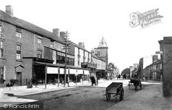 Abergele, Market Street 1895