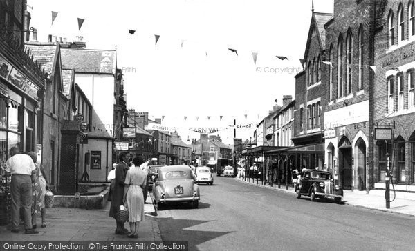 Photo of Abergele, Market Street c1960