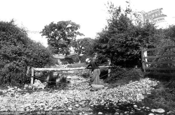 Photo of Abergele, on the River Gele 1890