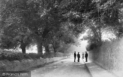 Abergele, Road View 1895
