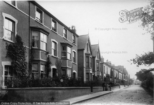 Photo of Abergele, Sea Road, Harrold Terrace 1895