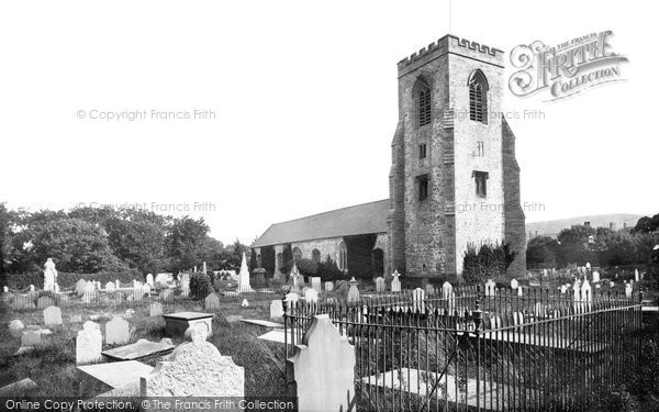 Photo of Abergele, St Michael's Church 1890