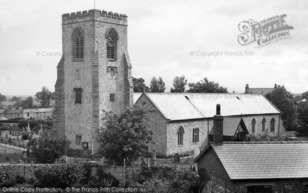 Photo of Abergele, St Michael's Church c.1955