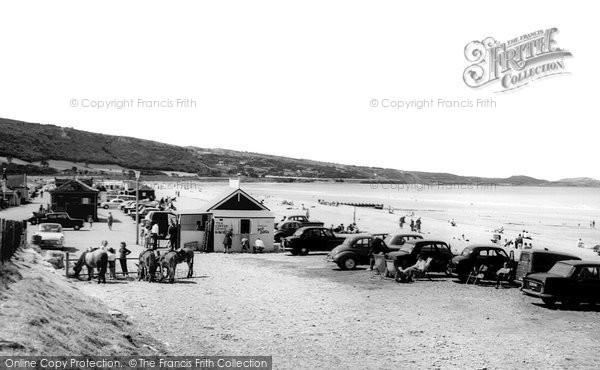 Photo of Abergele, The Beach c.1965