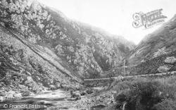 Aberglaslyn Pass, 1895, Pass Of Aberglaslyn