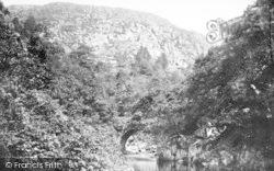 Aberglaslyn Pass, Bridge 1889, Pass Of Aberglaslyn
