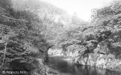 Aberglaslyn Pass, Bridge 1895, Pass Of Aberglaslyn