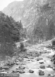 Aberglaslyn Pass, c.1880, Pass Of Aberglaslyn