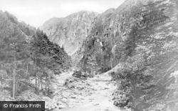 Aberglaslyn Pass, c.1890, Pass Of Aberglaslyn