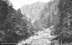 Aberglaslyn Pass, c.1935, Pass Of Aberglaslyn