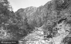 Aberglaslyn Pass, c.1950, Pass Of Aberglaslyn