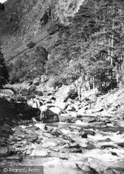Aberglaslyn Pass, c.1960, Pass Of Aberglaslyn