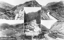 Aberglaslyn Pass, Passes Of North Wales Composite c.1960