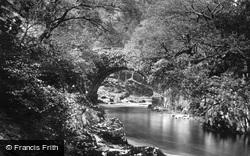 Aberglaslyn Pass, Pont Aberglaslyn c.1875, Pass Of Aberglaslyn
