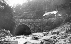 Aberglaslyn Pass, Pont Aberglaslyn c.1935, Pass Of Aberglaslyn