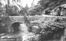 Aberglaslyn Pass, Pont Aberglaslyn c.1955, Pass Of Aberglaslyn