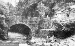 Aberglaslyn Pass, Pont Aberglaslyn c.1960, Pass Of Aberglaslyn