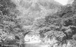 Aberglaslyn Pass, The Bridge 1895, Pass Of Aberglaslyn