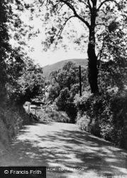 Abergorlech, Approach To Village 1950