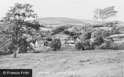 Abergorlech, General View 1950