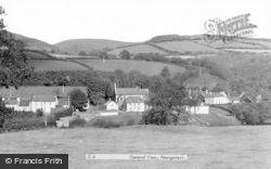Abergorlech, General View c.1955
