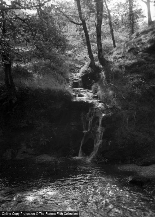 Photo of Abergorlech, Pant Falls 1950