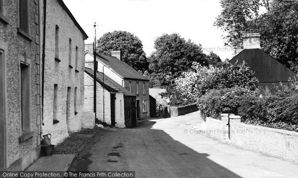 Photo of Abergorlech, Post Office 1950