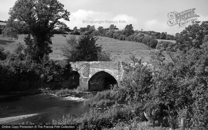 Photo of Abergorlech, The Bridge 1950